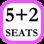 5 + 2 Seats